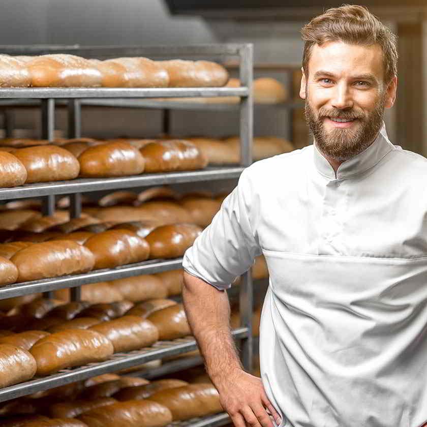 Venta al por menor de Panadería pastelería